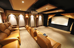Stargate Cinema purchases fabrics and track systems directly from the factory and uses only the best materials