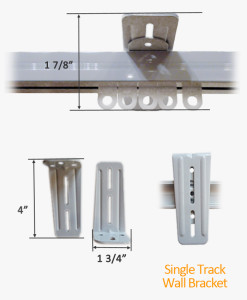 Single Track Wall Bracket