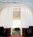 Curved Curtain Tracks & Curved Window