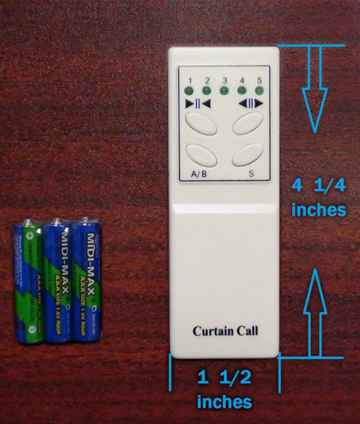 1-to-5 remote Control