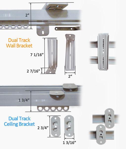 Dual Track Wall Bracket