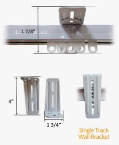 Single Track Wall Bracket