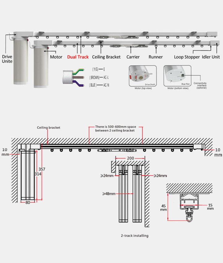 Automated Curtain Track Curtain Menzilperde Net