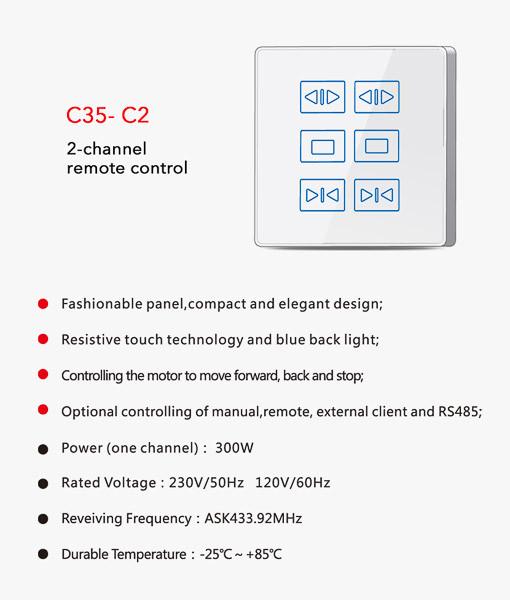 Wall Control C35-C2