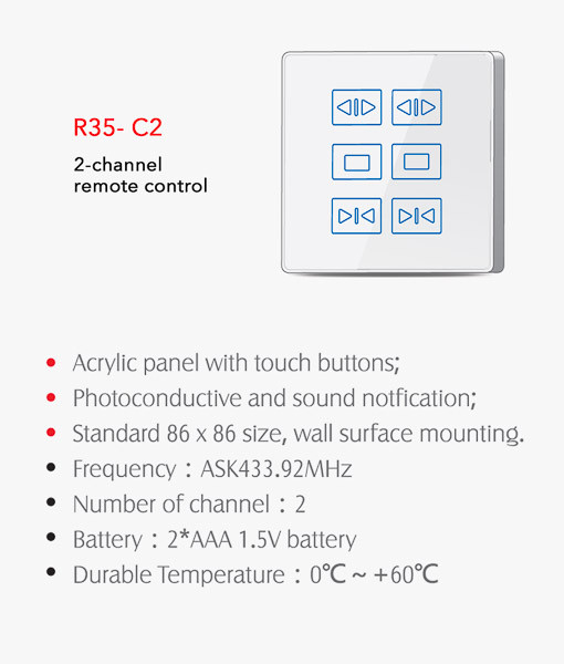 Wireless Wall Control R35-C2